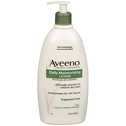 Aveeno Active Naturals Daily Moisturizing Lotion, 18 Ounce (Aveeno Moisturizer Cream compare prices)