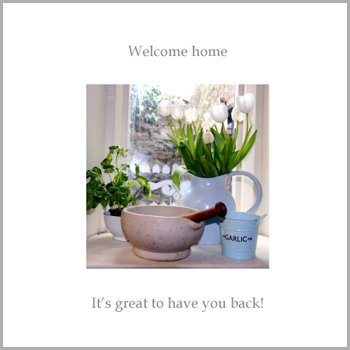 Fax Potato Greeting Card - Welcome Home, Its Great To Have You Back - For , New Home, Get Well Soon, Sorry
