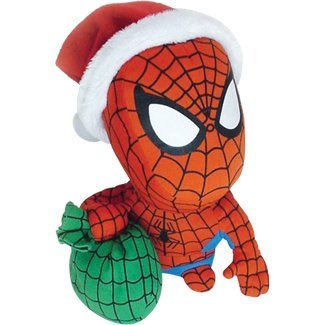 Comic Images Santa Spider-Man Super Deformed Plush - 1