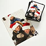 Personalized Photo Jigsaw Puzzle Christmas Gifts - Vertical
