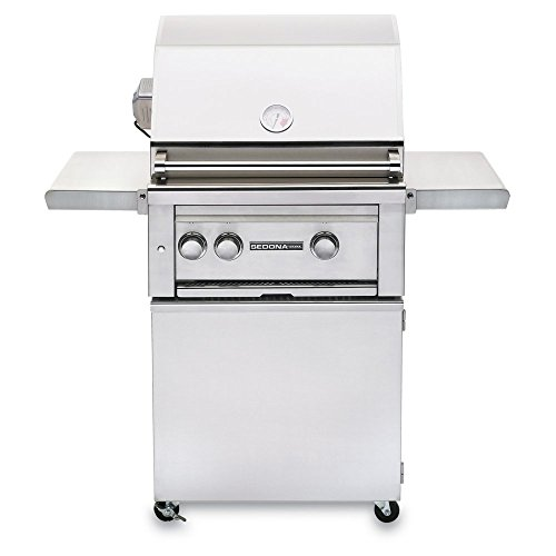 Sedona by Lynx Dual Zone Infrared Propane Gas Grill with Rotisserie, 24-Inch