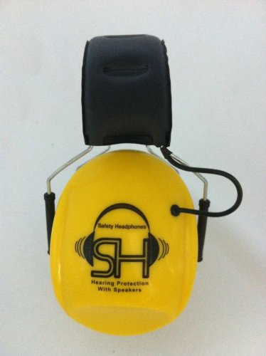 Safety Headphones - Over The Ear Hearing Protection & Headphones