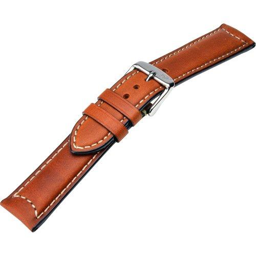 [モレラート]MORELLATO CEZANNE セザンヌ 時計ベルト18mm ゴールドブラウン カーフ時計ベルト X4273 B09 041 018