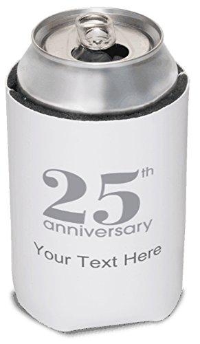 Vistaprint Silver 25Th Anniversary Koozies front-559163