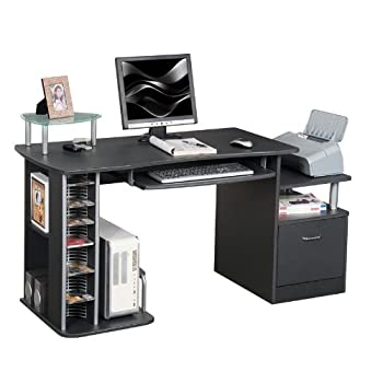 pas cher sixbros bureau informatique noir s 202a 85 magasin bureau. Black Bedroom Furniture Sets. Home Design Ideas