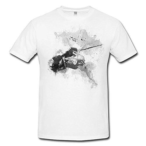Dirigent-T-Shirt-Frauen-Mdchen-mit-stylischen-Motiv-von-Paul-Sinus