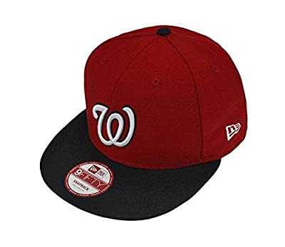 NEW ERA Snapback 9fifty Washington Nationals Major HAT CAP Men's