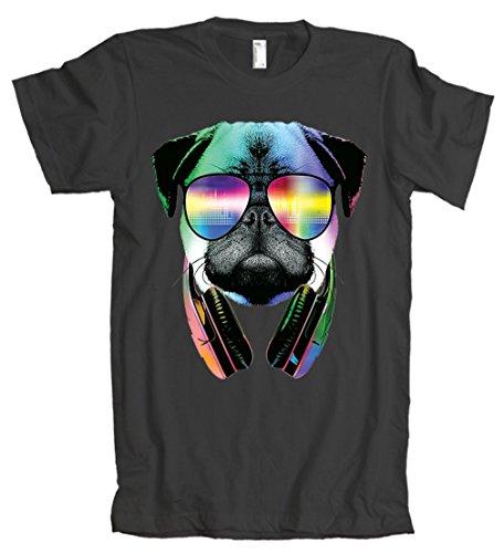 American Apparel: Trippy DJ Pug T-Shirt