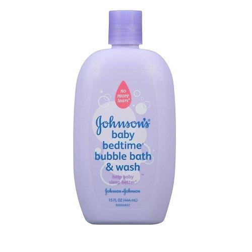 Johnson & Johnson Bedtime Bubble Bath & Wash - 15 Ounce front-986993