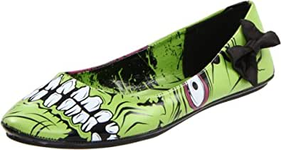 Iron Fist Zombie Stomper Flats - Zombie Shoes (5)