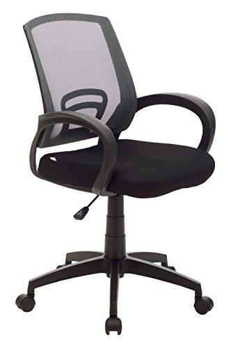 My_office ROOM Poltrona, Poliuretano, Grigio, 55x58x95 cm