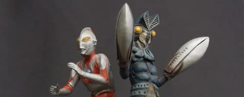 X-PLUS リアルマスターコレクション「ウルトラマン&バルタン星人」