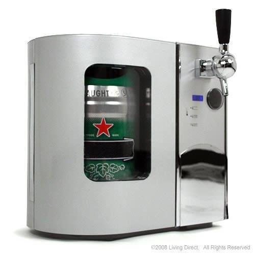 EdgeStar Deluxe Mini Kegerator & Draft Beer Dispenser EdgeStar Deluxe Mini Kegerator & Draft Beer D