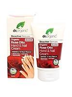 Dr Organic Tratamiento de Manos y Uñas Rose Otto 125 ml