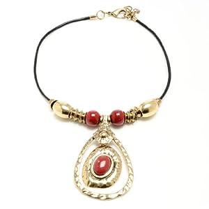 Amrita Singh Geren Necklace (Gold/Ruby)