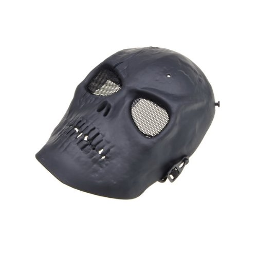 BestDealUSA Skull Skeleton Army Airsoft Paintball BB Gun Full Face Game Protect Mask Black