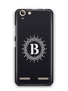 YuBingo Monogram with Beautifully Written letter B Mobile Case Back Cover for Lenovo Vibe K5 Plus
