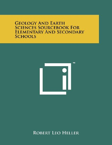 Geology and Earth Sciences Sourcebook for Elementary and Secondary Schools