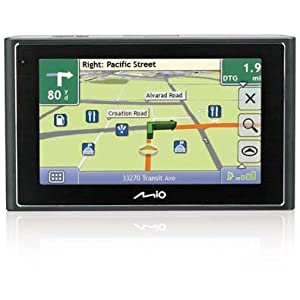 Mio Moov 500 - 4.7' Portable GPS Navigation