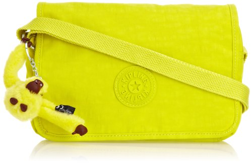 Kipling Womens Delphin N Shoulder Bag K1238925G Honey Dew