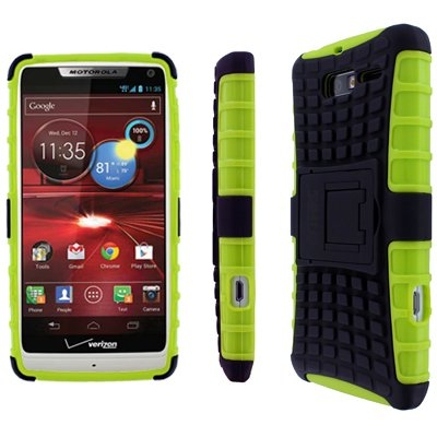 EMPIRE Tough Rugged Kickstand Case for Droid Razr M