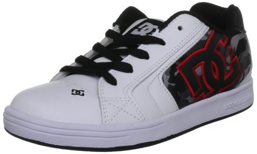 Dc Shoes Net Se White/Camo Fashion Sports Skate Shoe D0302365A 11 UK Junior, 12 US