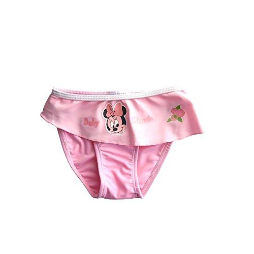 Traje-de-bao-para-beb-diseo-de-Minnie-de-Disney-rosa-24-meses