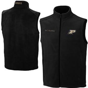 Columbia Purdue Boilermakers Adult Collegiate Flanker Vest by Columbia
