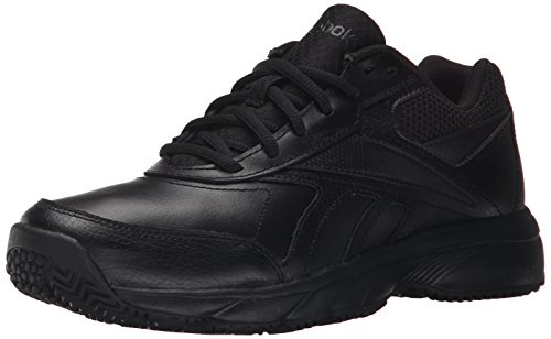 Reebok Women's Work N Cushion 2.0 Walking Shoe, Black/Black, 7 M US