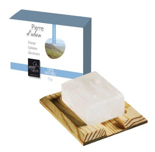 bloc pierre alun 75 g d odorants et anti transpirant. Black Bedroom Furniture Sets. Home Design Ideas