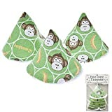 Pee-pee Teepee Baby Boy Lil Monkey in Cellophane Bag Boy Diaper Bag Weewee Change