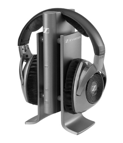 New Sennheiser Rs180 Wireless Audio Headphones + Docking/Cradle Transmitter East