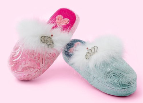 Buy Low Price Marabou Crown Slippers (B000E6AVJK)
