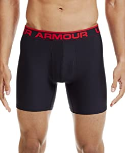 Under Armour Men's Original Series 6'' Boxerjock® Boxer Briefs Large Black