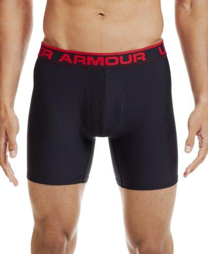 Under Armour Men'S Ua Original Series 6' Boxerjock® Large Black