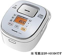 パナソニック 大火力おどり炊き IHジャー炊飯器 1合~1升 スノーホワイト SR-HX184-W