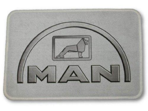 Fussmatte-MAN-grau