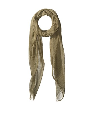 Rick Owens DRKSHDW Men's Cotton Scarf, Limo Green