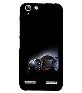 PrintDhaba Cool Car D-1172 Back Case Cover for LENOVO A6020a46 (Multi-Coloured)