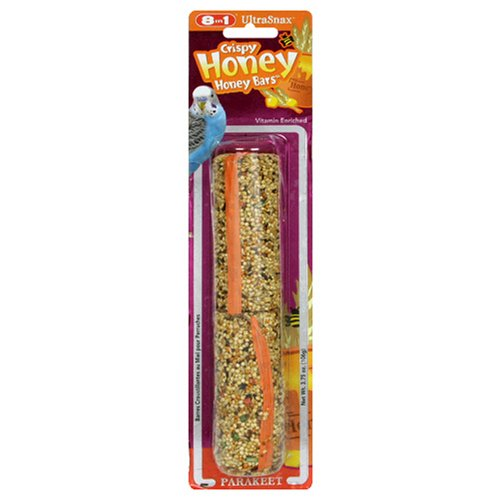 Cheap 8in1 Parakeet Crispy Honeybars (2/Blister), 3.75-Ounce (A282)