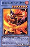 YuGiOh Dark Crisis Legendary Flame Lord DCR-081 Rare [Toy]
