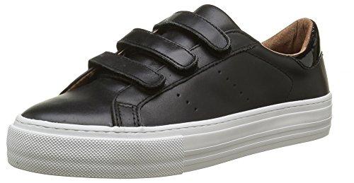 no-name-arcade-velcro-sneakers-basses-femmes-noir-altezza-leather-nero-fox-white-40-eu