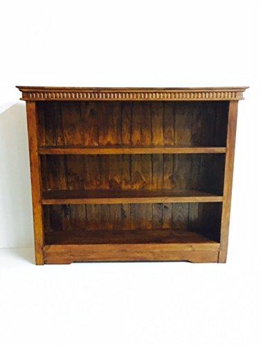 Libreria porta tv Legno teak massello Artigianale soggiorno Etnico Vintage Indonesiano