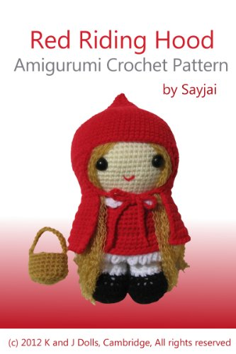 Red Riding Hood Amigurumi Crochet Pattern