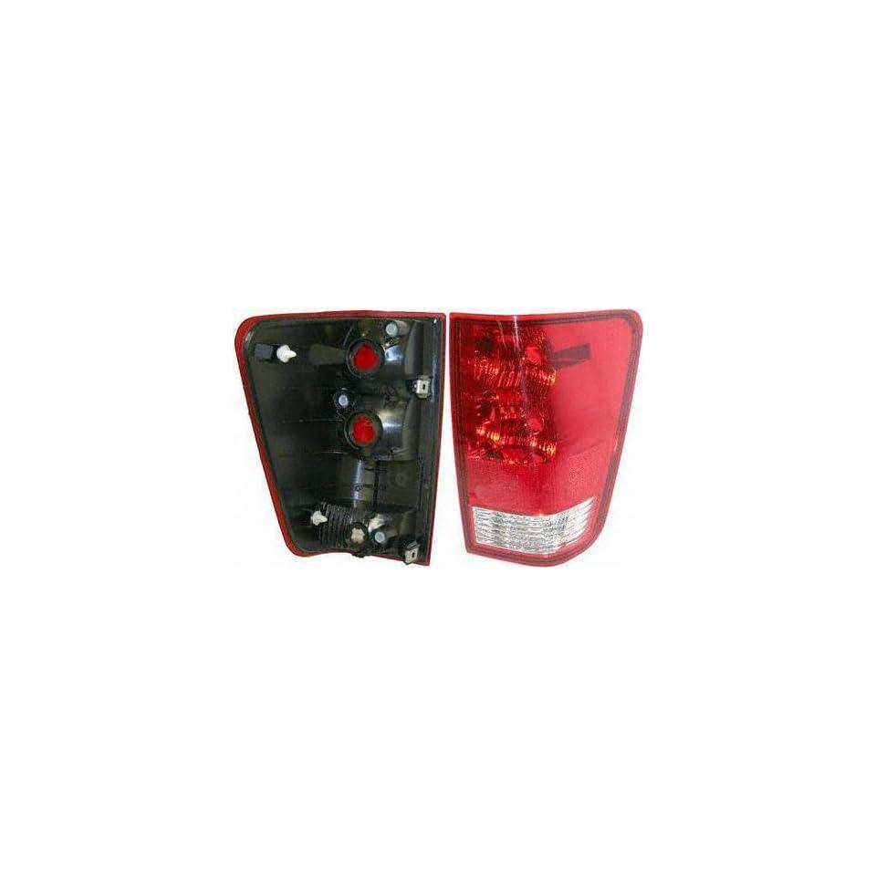 04 05 NISSAN TITAN TAIL LIGHT RH (PASSENGER SIDE) TRUCK, Assy, w/o Utility Compart (2004 04 2005 05) N730129 26550ZH225