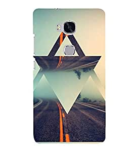PRINTSHOPPII MUSIC MUSIC Back Case Cover for Huawei Honor 5X