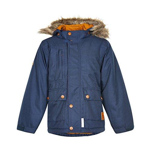 minymo-giacca-invernale-motivo-a-lisca-pesce-blu-scuro-navy-scuro-110-cm