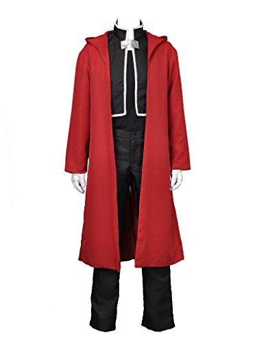 Cosfun Fullmetal Alchemist Edward Cosplay Costume Mp000290