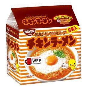 ★特売中★日清 チキンラーメン 袋めん 5食パック 1ケース(5P入×6袋 合計30食)