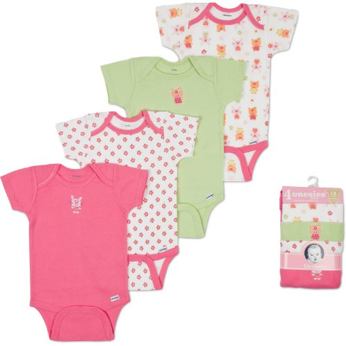 Solid Color Baby Onesies front-1030893